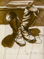 The Artist's Boots, 1932