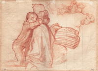 Study for a section of the House of...
