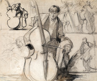 Study for Harmony, Skinners, c.1908