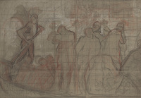Study for Venetian Funeral