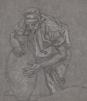 Study of Figure with Vessel
