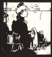 Barmaid (Any Bar); 1898