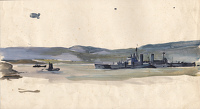 Study for Scapa Flow, c.1943
