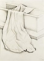 Cloth draped over a chest, 1939