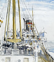 Calm in the Baltic, 1935
