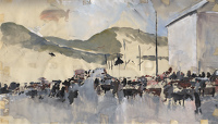 Sketch for Fair at Waterville Co Kerry