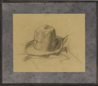 Study of the artist's hat