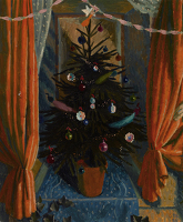 Christmas tree in pot, 1956