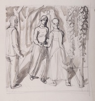 Study for The Visitation, c. 1942