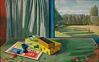 Still Life with Landscape, mid 1930's