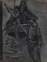 'You drove him from the boat', 1916
