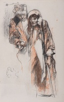 Two Beggars (study for M1139)