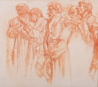 Choir (study for M1109)