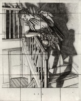 Girl on Stairs, 1937