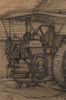 Study of a traction engine