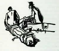 Two Seated Men, c. 1918