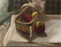 Apples in a Basket circa 1913
