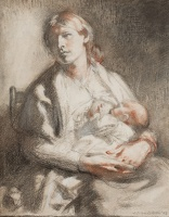 Mother Feeding her Child, 1903