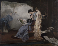 An Allegory of Painting, 1880's