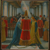 Study for The Marriage of the Virgin