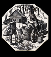 Maple Sugaring, BPL610, 1949-50