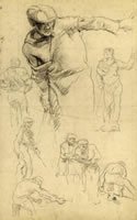 Study for Venice Biennale Murals , 1905