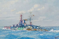 HMS Ramillies as she appeared in...