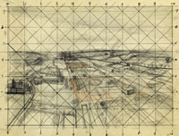 Sketch for An Aerial View of a...